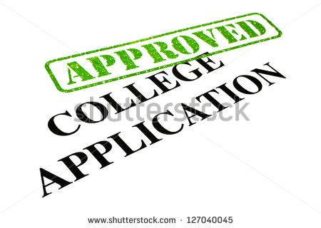 Application letter for admission in college